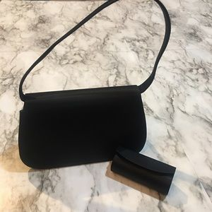 Valerie Stevens satin clutch purse